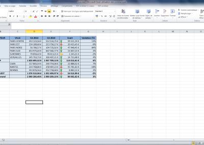 Excel Report Sample Report